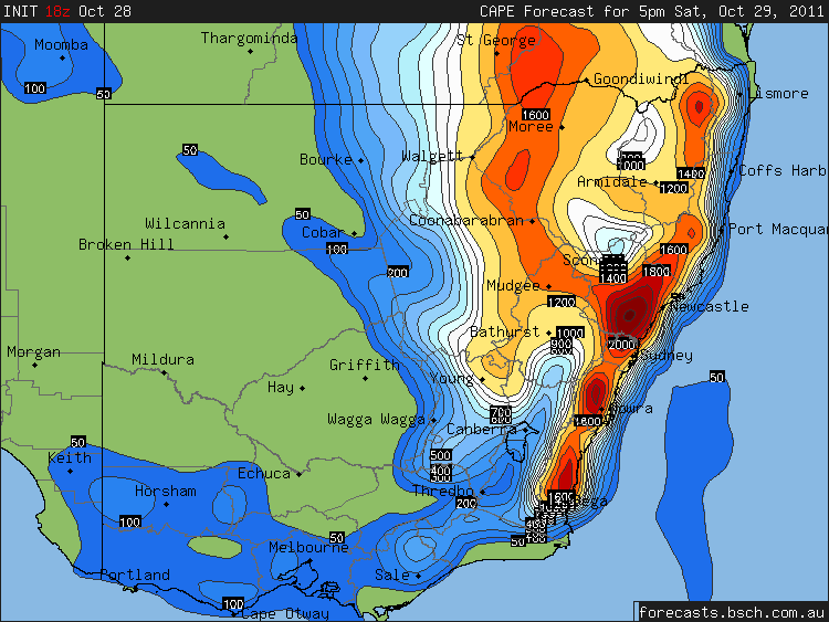 NSW Storms October 29-30th 1