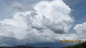Oberon and Lithgow Storms 18 February 2012