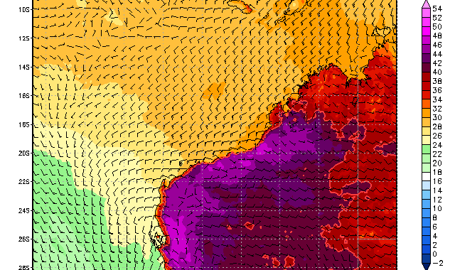 Heat Wave Northwestern Australia January 2014