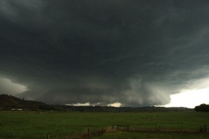 Lismore Hailstorm Video from 9 October 2007
