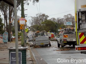 Storm damage in Cambridge Park from supercell on 8.11.2012