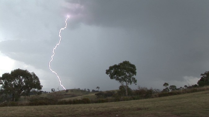 Spectacular lightning display Mt Panorama (Bathurst) 21 January 2012 2