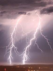 Lightning Display NE NSW Jan 13 and 14 2013