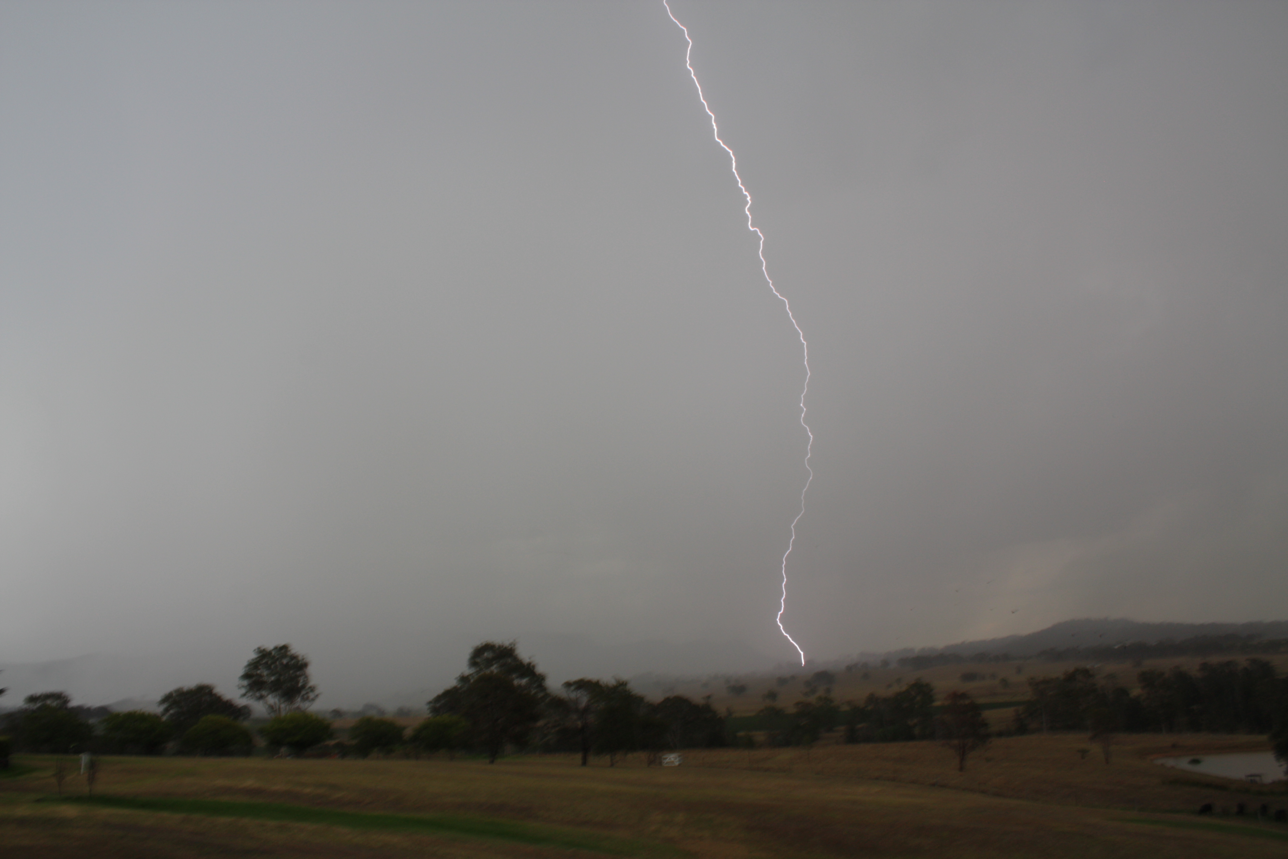 Lightning Active Storms Hunter 12/1/13 4