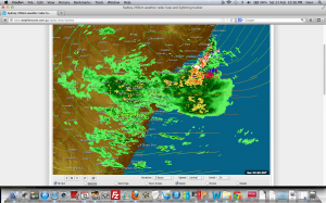 Sydney and Hunter Flood Watches 23rd to 24th February 2013
