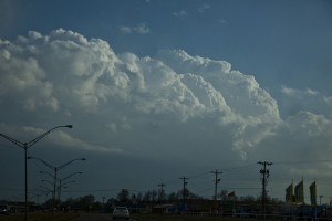 Hailstorm central Oklahoma 14th April 2013