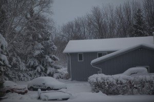 Snow storm in Minnesota 18th to 19th April 2013