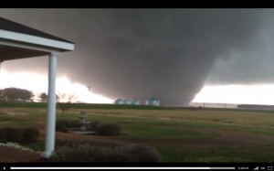Spectacular tornado video Noxubee County Mississipi April 11 2013