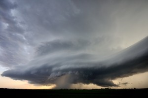 Supercell Beast Central Oklahoma 26th April 2013