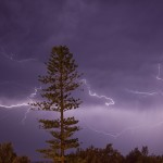 Storms and Lightning Bulahdelah and Port Macquarie 9th November 2013