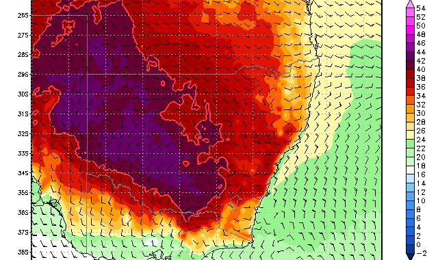 Heat Wave, Drought and Bushfires Victoria and NSW 18th January 2014