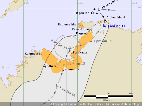 tropical_cyclone_track_northern_territory_14th_January_2014