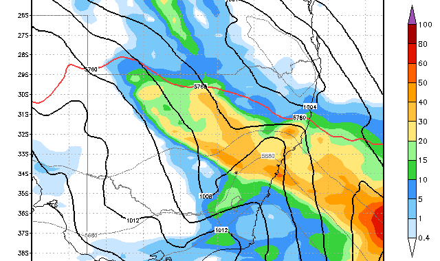 Rain Event Eastern NSW 15th - 16th February 2014 2