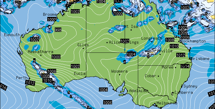 Tropical Cyclone Edna Forms and weakens off Queensland