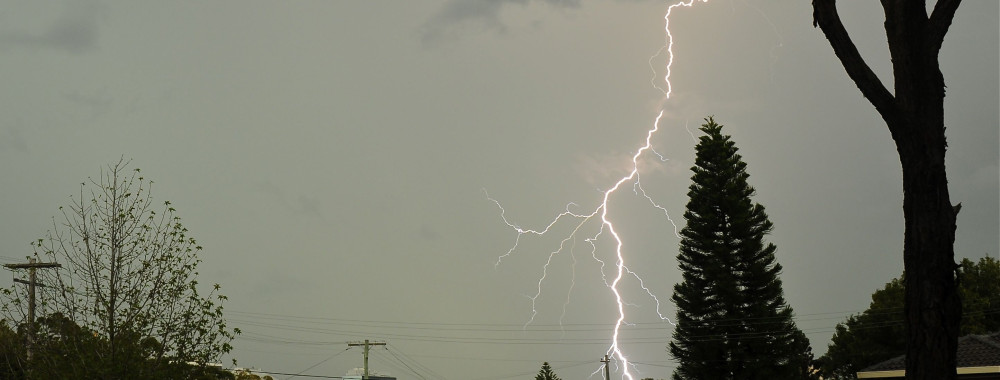Saturday 15 March 2014 storms and strong lightning strikes 9