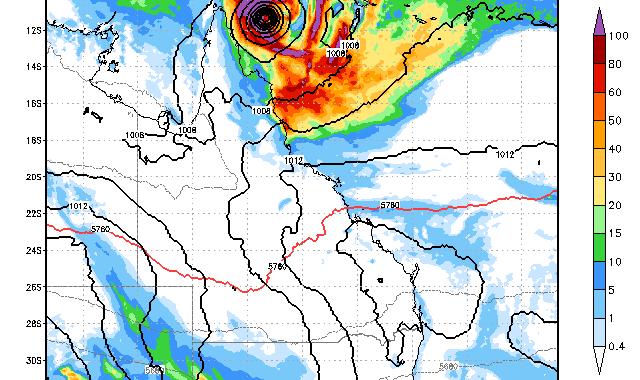 Tropical Cyclone Ita 8th April 2014 2