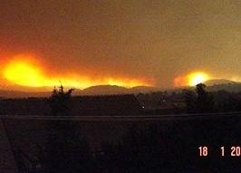 Canberra Bushfires Tornado 18th January 2003 2