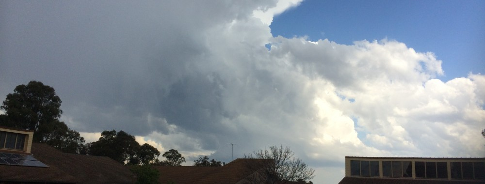 Severe Storms in Sydney Structured Supercells 16th September 2014 1