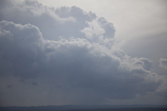 Squall Line through Sydney with Hail 13th October 2014