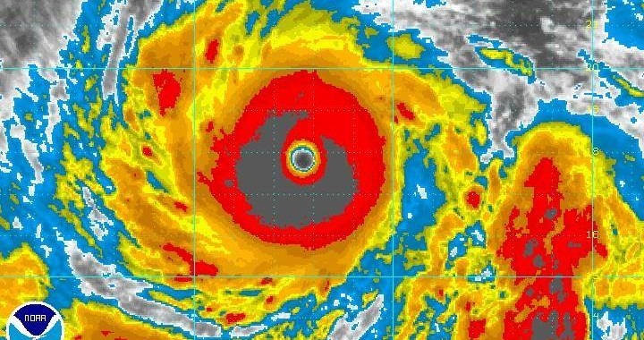 Super Typhoon Vongfong Category 4 Typhoon 1