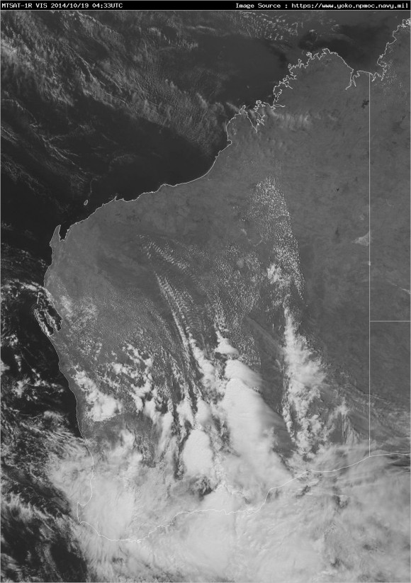 WA vis latest Severe Storm Outbreak 19th October 2014