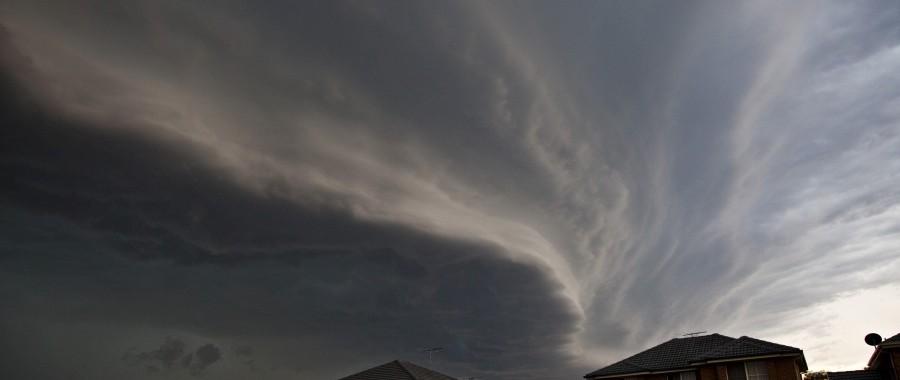 Spectacular Shelf Cloud Western Sydney 24th November 2014 3