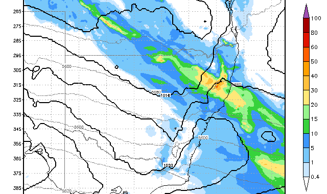 Rain Event North East NSW 25th November 2014