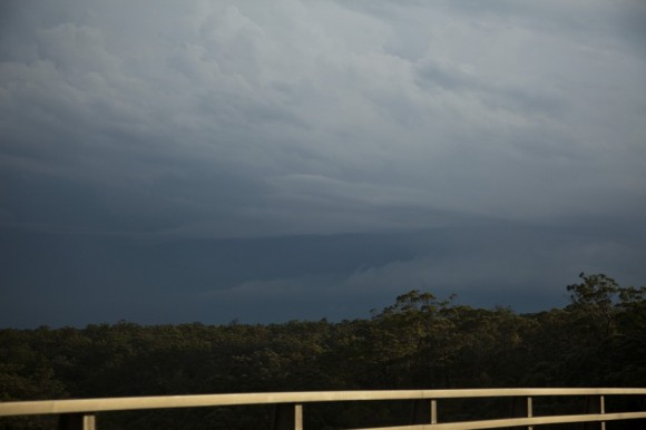 Approaching storm base Southern Tablelands near Moss Vale