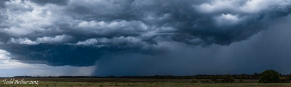 Richmond NSW Storm chase.