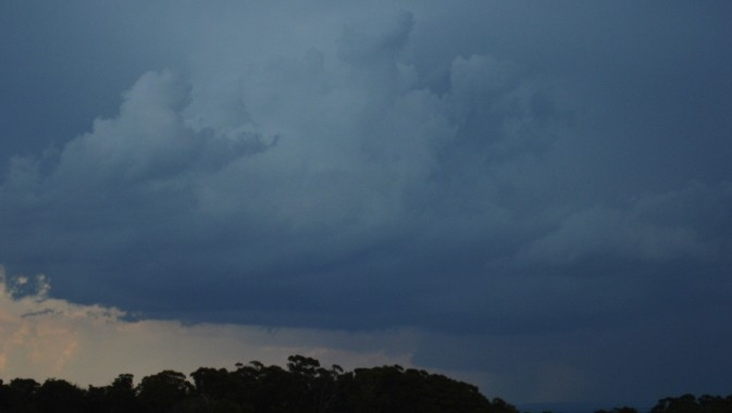 Southern Tablelands Storm cell ends with disappointment 4