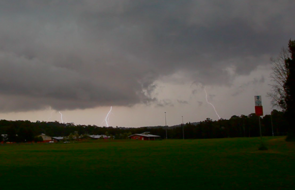 Batemans Bay Lightning 9th January 2015-01