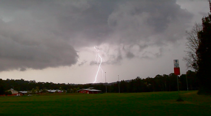 Storms Batemans Bay 9th January 2015 1