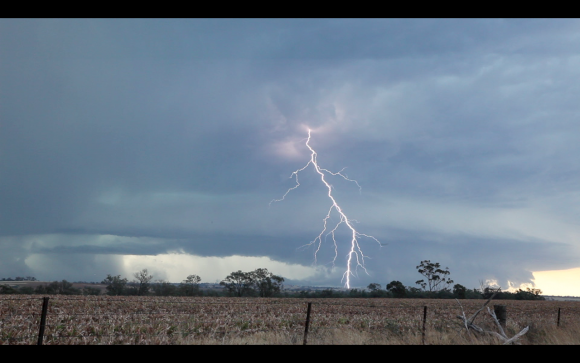 Extreme Lightning Bolts 21st March 2015