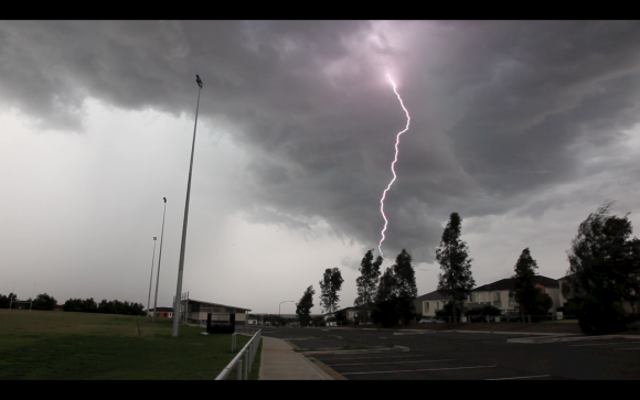 Sydney Lightning Storms 6th April 2015