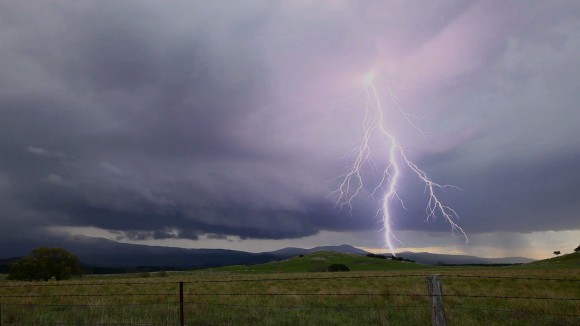 Weather Photographs - Lightning