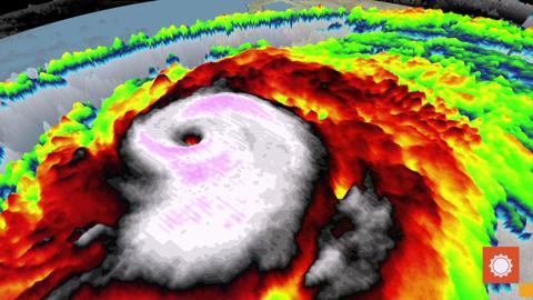Hurricane Patricia 3D aspect