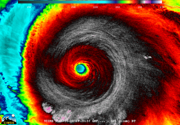Hurricane Patricia Category 5