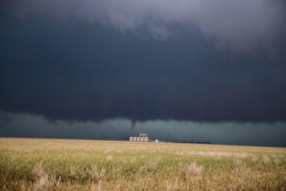 Simultaneous tornado near Perryton tornado