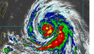 Typhoon Megi - Taiwan September 25 to 27 2016