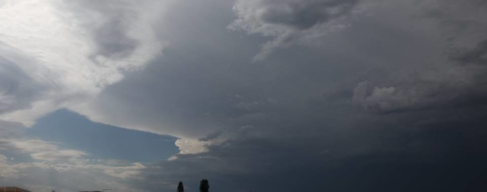 Severe Storm Warning Sydney 21st November 2016
