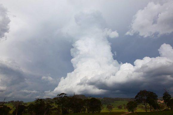 Severe Storm Warning Northern Tablelands 27th November 2016