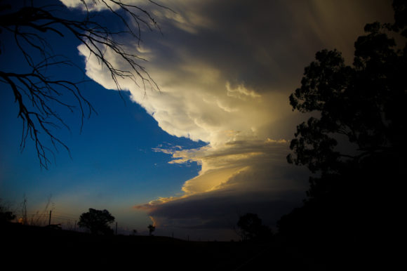 Mendooran supercell at disk