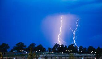 Sydney Storms and Lightning 14th December 2017