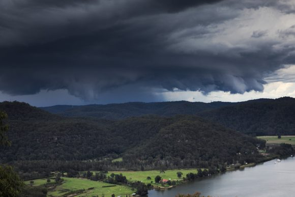 Severe Storms approach Sydney Central Coast 18th October 2018