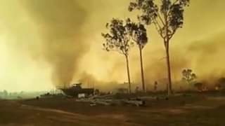 Lake Mary, QLD Firestorm