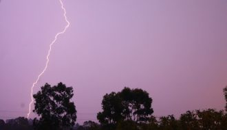 Morning Storms Glenmore Park 16th January 2020