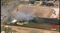Schofields: A fire has destroyed a shed on Boundary Road.  Report on 7 News at 6...