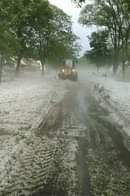 CRAZY: There was so much hail this morning in the Twin Cities area that it almos...
