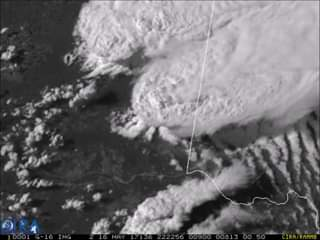 Check out the detail in this 1-minute, 500 meter animation of GOES-16 visible (b...