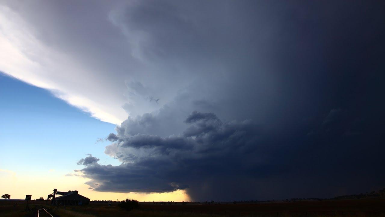 Coolah Storm Time-lapse